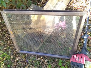 Window with mesh wiring for Sale in Dothan, AL