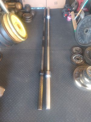 7 Foot Olympic Barbells for Sale in Aurora, IL