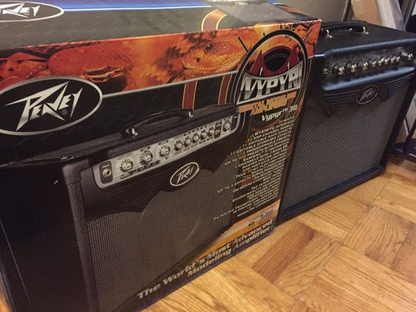 peavey vypyr 30w modeling amplifier electric guitar amp for sale in seattle wa offerup. Black Bedroom Furniture Sets. Home Design Ideas