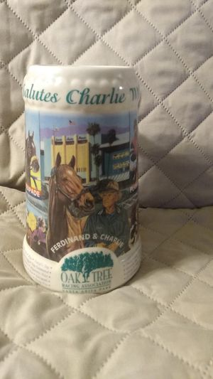 1995 limited edition Stein commission by oak tree racing association for Sale in Lake Havasu City, AZ