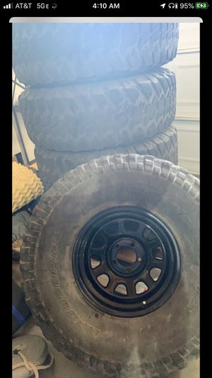 5 Off-road rims and tires for Sale in Denver, CO