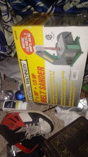 Brand new belt sander for Sale in Gaithersburg, MD