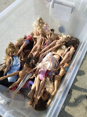 A collection of barbie dolls for Sale in Clearwater, FL