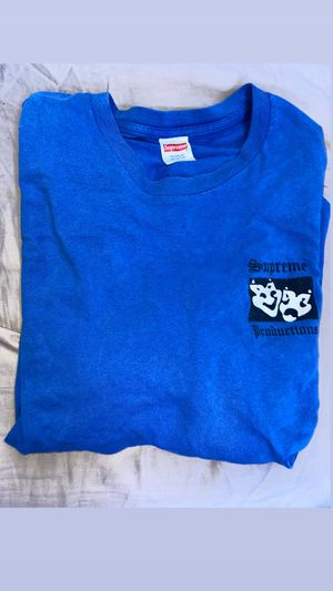 Supreme Productions Long Sleeve Tee Blue Size M for Sale in Fresno, CA
