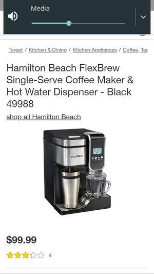 Single serve coffee, regular & kcup & hot water maker for Sale in Portland, OR