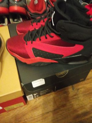 Red and Black New Jordan's size 9 for Sale in Milwaukee, WI