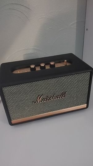 Marshall bluetooth speaker for Sale in Tampa, FL