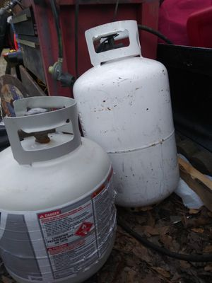 Refill propane tanks only a few left 1 large 2 med 3 small for Sale in Birmingham, AL