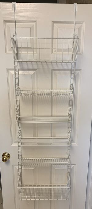 Kitchen Pantry Door Storage Rack for Sale in Arlington, TX
