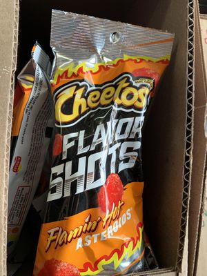Cheeto asteroids ☄️ flaming hot for Sale in La Puente, CA