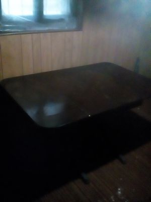 Antique drop leaf table with 4 chairs for Sale in St. Louis, MO