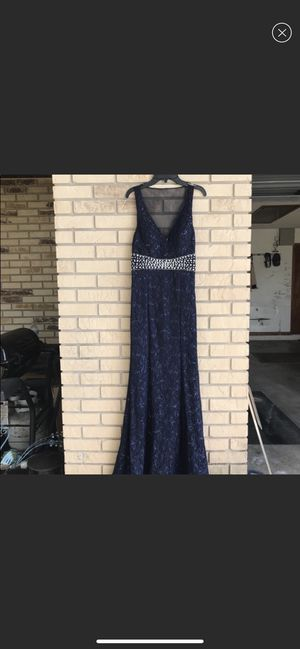 Navy Blue Prom Dress for Sale in Haines City, FL