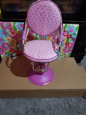 Doll salon chair for Sale in Jurupa Valley, CA