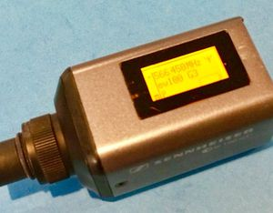Sennheiser EW 100 G3 Plug On Transmitter for dynamic mic for Sale in Lakeland, FL