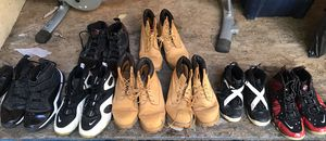 Lot shoes timberland nike for Sale in Alexandria, VA