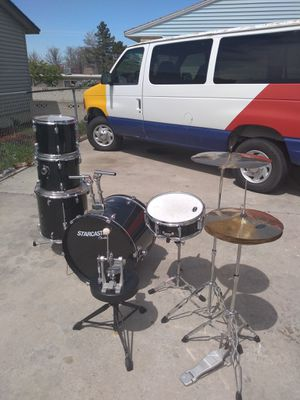 Drum set by fender for Sale in West Valley City, UT