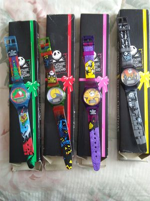 Nightmare before Christmas watches for Sale in West Islip, NY