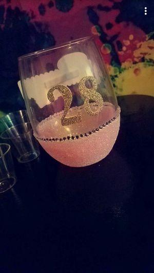 Custom birthday glass for Sale in West Palm Beach, FL