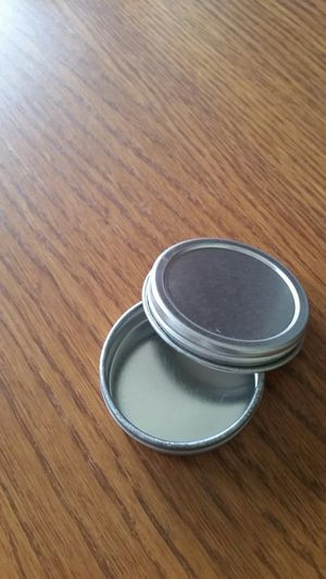 1 oz Flat Tin Container with Screwtop Cover for Sale in Silver Spring, MD