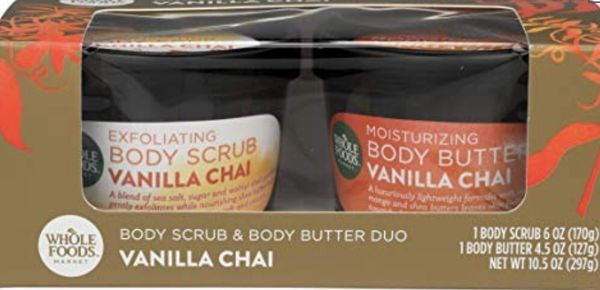 Brand new scrub and butter duo