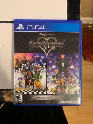 Kingdom Hearts PS4 for Sale in Dallas, TX