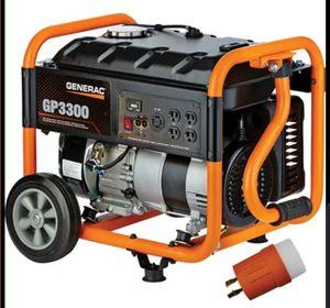 Generac GP3300 brand new for Sale in East Greenwich, RI