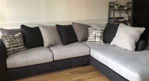 Grey Albany Sectional Couch *almost new* for Sale in New York, NY