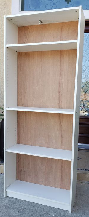 Beautiful IKEA 4 Tier Bookcase Bookshelves Stand Unit + Shelves INCLUDED for Sale in Monterey Park, CA