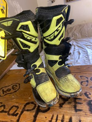 Maverik Size 12 Newer Used Dirt Bike Boots for Sale in Reed City, MI