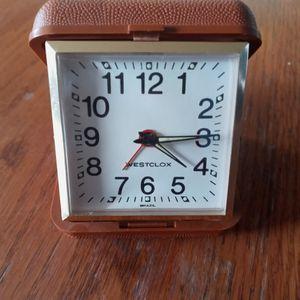 Westclox Vintage Travel Alarm Clock for Sale in Fort Wayne, IN