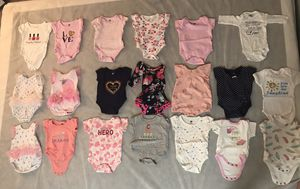 Baby Girl Clothing NB-3 Month for Sale in Ocoee, FL