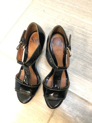 Black Patton leather heal women's size 7 for Sale in Maple Valley, WA