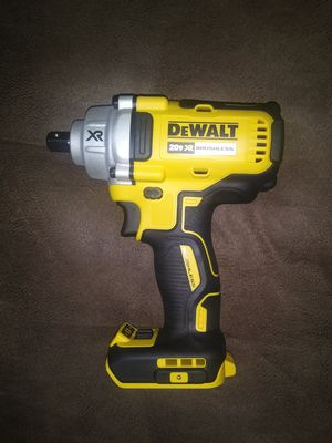 """Dewalt xr brushless 1/2"""" impact wrench tool only for Sale in Garner, NC"""
