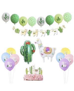 Llama balloons kit supplies (DETAILS AND SIZE ON PICTURES) for Sale in Fontana, CA