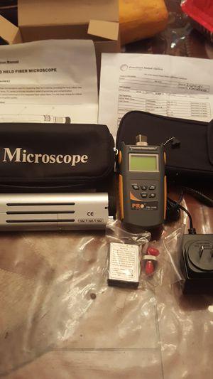instrumentos para la fibra optica en excelente condicion for Sale in Dallas, TX