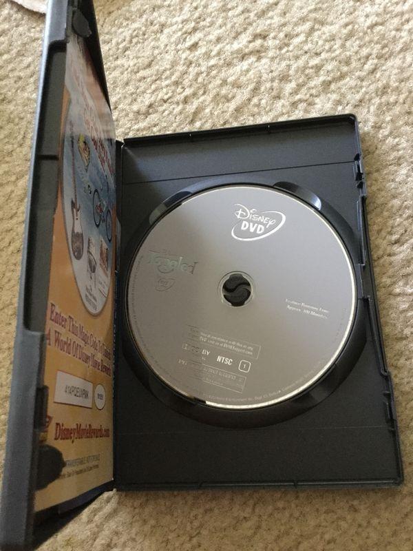Disney's tangled dvd