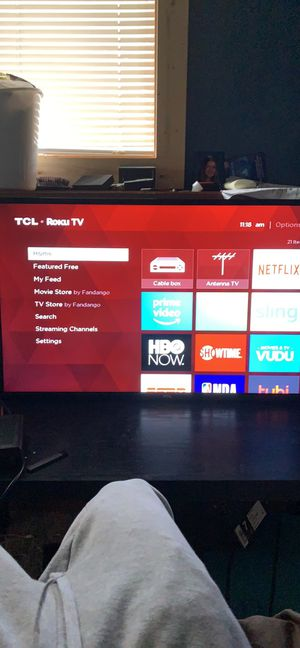 Tcl roku tv for Sale in Apple Valley, MN