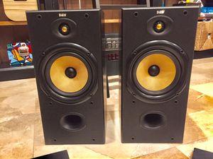 B & W Audiophile 2-way Bookshelf Speakers for Sale in Miami, FL