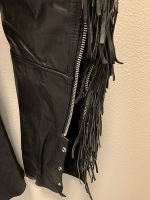 Women's motorcycle jacket, vest, chaps, size small for Sale in Vancouver, WA