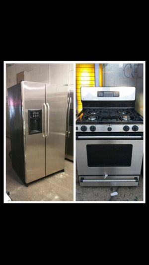 GE stainless steel set for Sale in Queens, NY