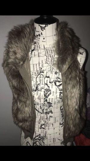 faux fur vest for Sale in Dearborn Heights, MI