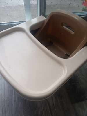 Portable high chair/booster seat for Sale in Colorado Springs, CO