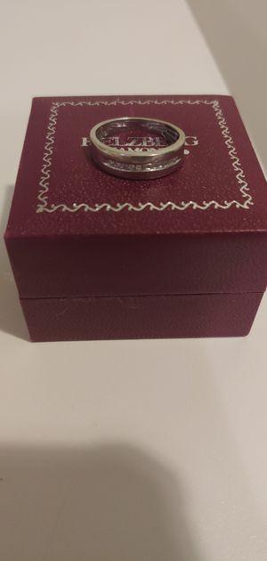 10k Diamond white gold wedding groom ring from Helzber Diamond for Sale in Bristow, VA