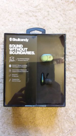 SkullCandy Push Truly Wireless earbuds for Sale in Redlands, CA