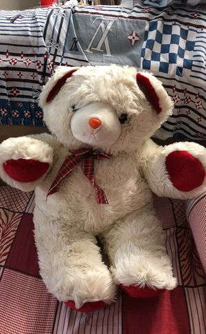 Giant Christmas bear stuffed animals toys for Sale in Grand Prairie, TX