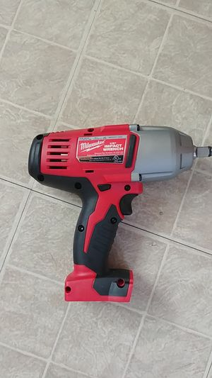 Milwaukee 1/2. IMPACT WRENCH NEW for Sale in Silver Spring, MD