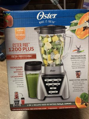 Oster Blender | Pro 1200 with Glass Jar for Sale in North Miami Beach, FL