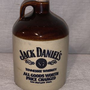 Vintage Jack Daniels stoneware 7 inch jug with cork Ex condition for Sale in Coventry, CT