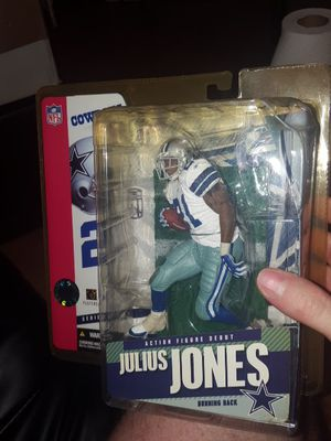 2005 McFarlane Julius Jones Action Figure unopened for Sale in Charlotte, NC