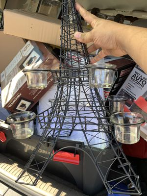 Eiffel tower candle holder for Sale in Las Vegas, NV